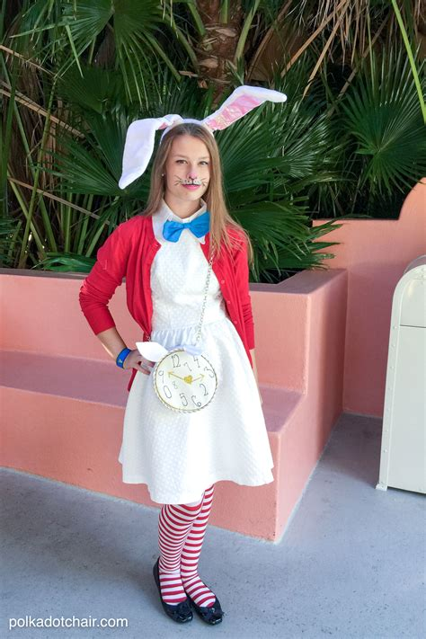 pattern for white rabbit costume no sew white rabbit costume the polka dot chair
