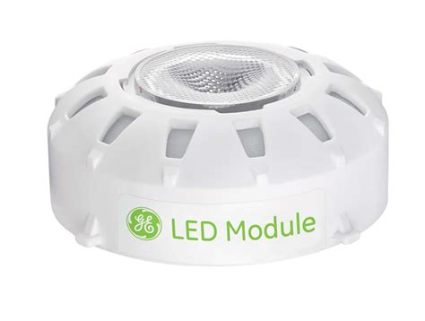 Lu Led Ge lighting breakthrough new ge led module simplifies lighting makes luminaires upgradeable and