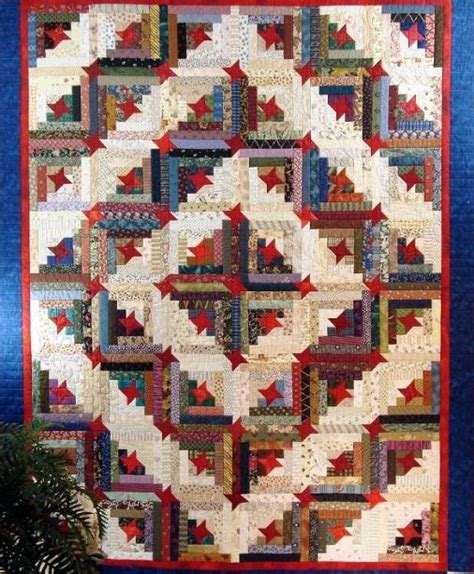 pattern yourself make yourself at home 7 cozy log cabin quilt patterns