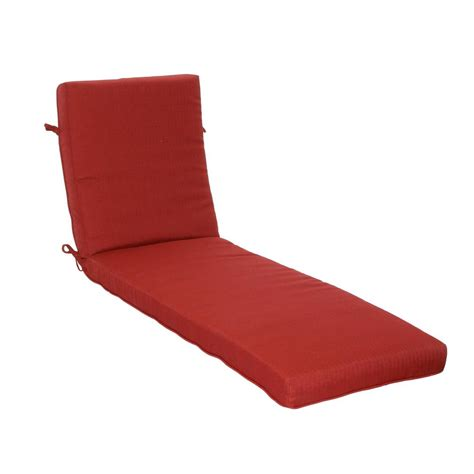 hton bay chaise lounge cushions hton bay chili texture outdoor chaise lounge cushion