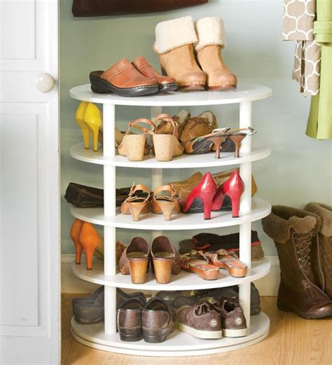 rotating shoe storage rotating shoe rack organizer