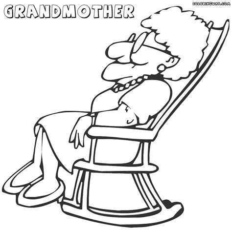 grandmother coloring pages coloring pages to download