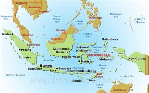 indonesia maps
