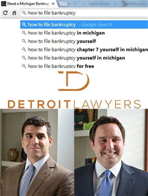 Michigan Bankruptcies Records Michigan Bankruptcy Attorneys Detroit Lawyers Detroit Lawyers