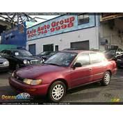 1993 Toyota Corolla DX Red Pearl / Dark Gray Photo 2  DealerRevscom