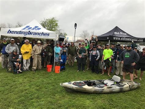 Tackle Warehouse Gift Card - weather concerns on lake fayette lead to huge limits kayak angler s tournament series