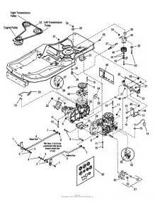 simplicity 7800360 axion 18 5hp zt18533 zero turn rider w 33 quot mower parts diagram for