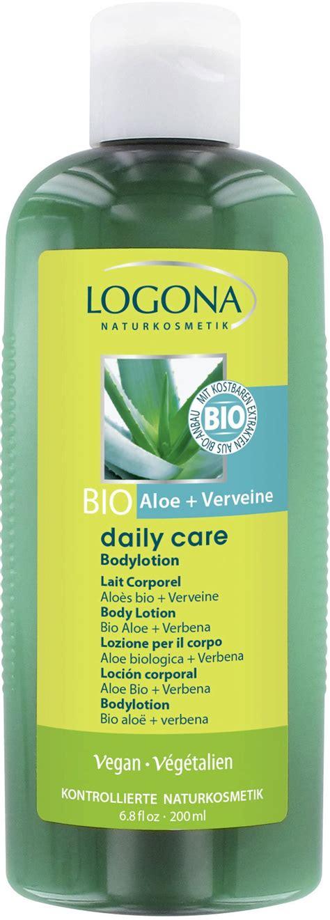 Daily Care Lotion 100ml Handbody Lotion 08112828100 Logona Daily Care Aloe Verbena Lotion 200 Ml