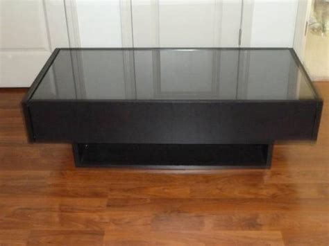 coffee table with drawers ikea ikea ramvik coffee table with glass protection cover and 2