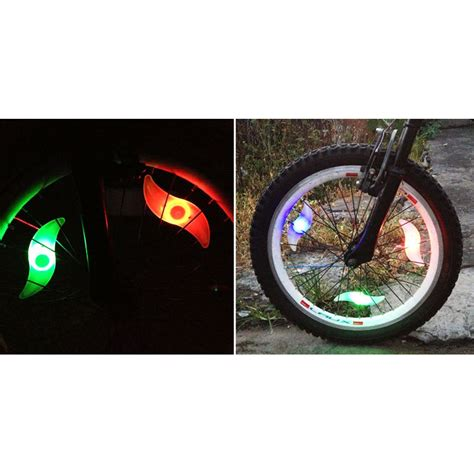 lu ban sepeda colorful led bicycle wheel light 1 pcs multi color jakartanotebook