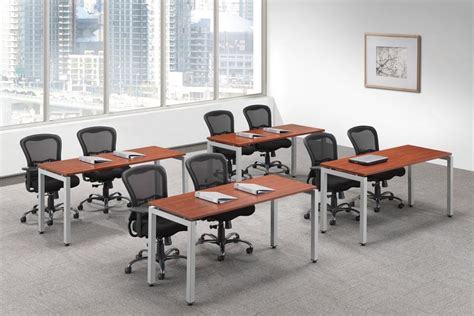 breakroom tables with attached chairs pl u leg room tables sosinstalls office