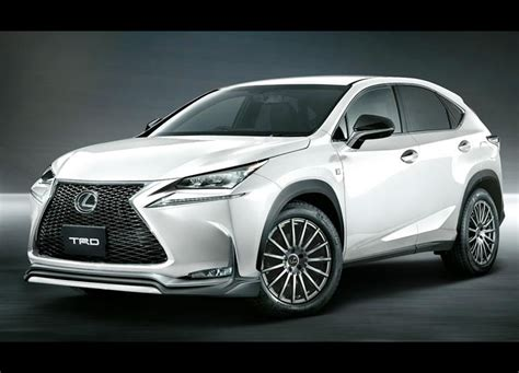Trd Enhancements For New Lexus Nx Announced Performancedrive