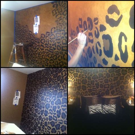 cheetah wallpaper for bedroom 25 best ideas about cheetah print walls on black accent walls master bedroom