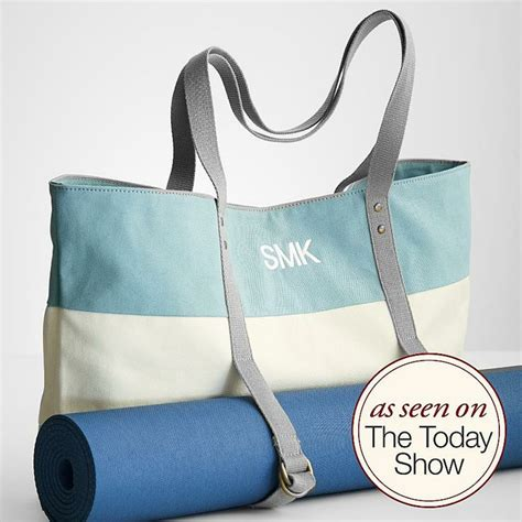 Monogrammed Mat Bag by Personalized Mat Bag Sew In