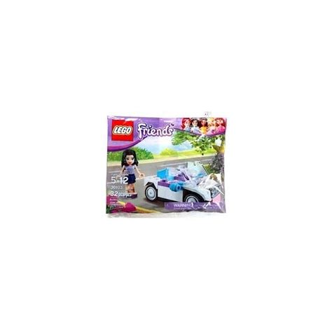 Lego Friends Auto by 30103 Lego Friends Auto Met Emma Polybag Bouwstenenshop