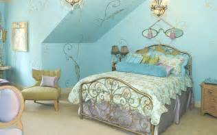 Bedroom Decorating Ideas Metallic Amusing Bedroom Ideas With Light Blue Floral
