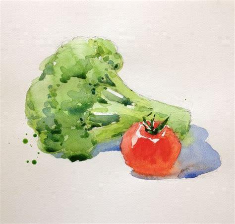watercolour fruit vegetable 181 best watercolor fruit vegetables images on