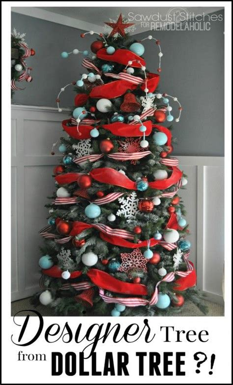 remodelaholic how to decorate a christmas tree a