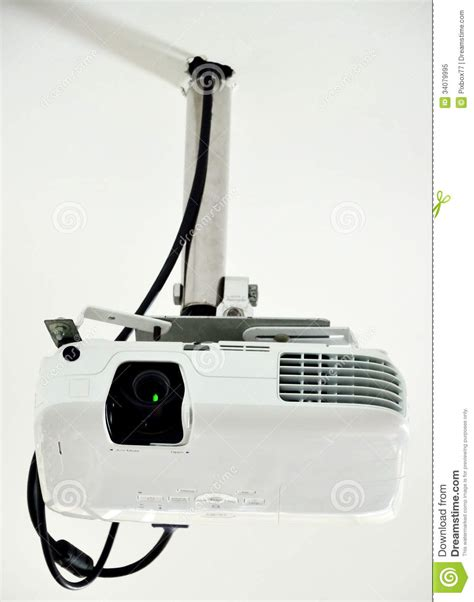 Ceiling Projector Royalty Free Stock Photo Image 34079995 Hanging A Projector From Ceiling