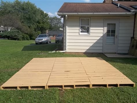 temporary deck pallet decks and patios this entry was posted in diy by
