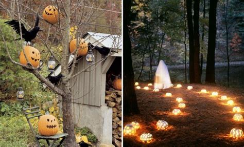 backyard halloween party 125 cool outdoor halloween decorating ideas digsdigs