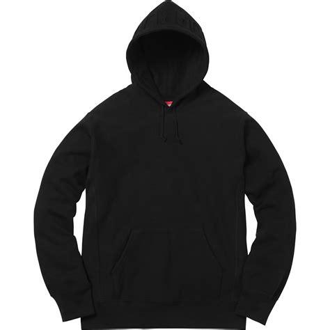 Joyrides Hoodie Black Technocool 1 supreme embossed logo hooded sweatshirt black
