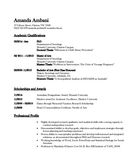 academic resume template cryptoave com