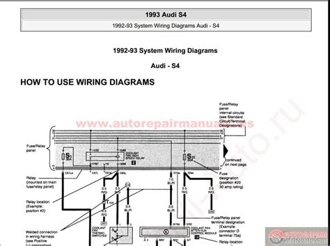 motor repair manual 2011 audi a4 security system audi s4 1993 system wiring diagrams auto repair manual forum heavy equipment forums