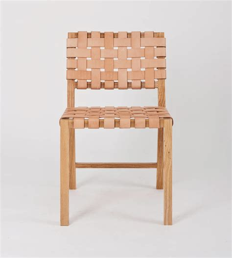 leather weave chair in blush outdoor dining chairs