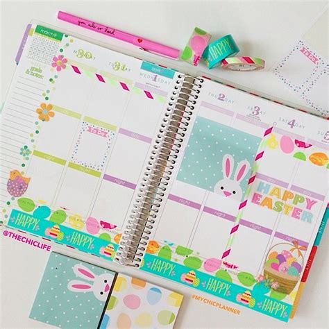 Decorate Planner by Planner Decoration Ideas April 2015 Erin Condren