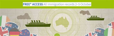 Free Records Access Free Access To Ancestry S Immigration Records 2 5 October