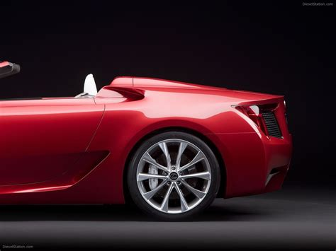 lexus lfa concept lexus lfa roadster concept car images car