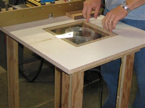 How To Build A Router Table by How To Build A Router Table Image Mag