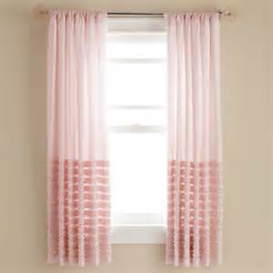 Pink Curtains For Nursery Curtains Light Pink Multi Ruffle Curtain Panels 84 Pink Multi Ruffle Curtain Panel