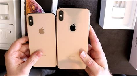 iphone xs iphone xs max gold unboxing youtube