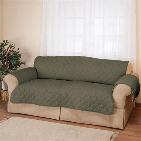 Oakridge Sofas Reviews by Deluxe Microfiber Sofa Cover By Oakridge Comforts