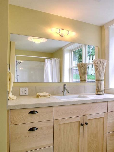 Frameless Bathroom Mirrors 21 Amazing Large Frameless Bathroom Mirrors Eyagci