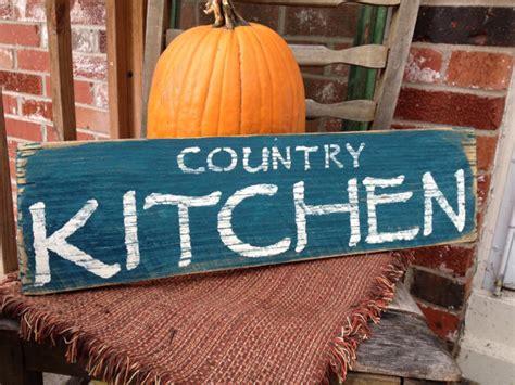 country kitchen signs country kitchen reclaimed wood sign