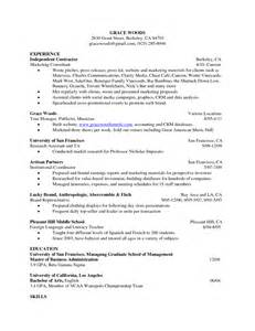 best photos of basic chronological resume templates