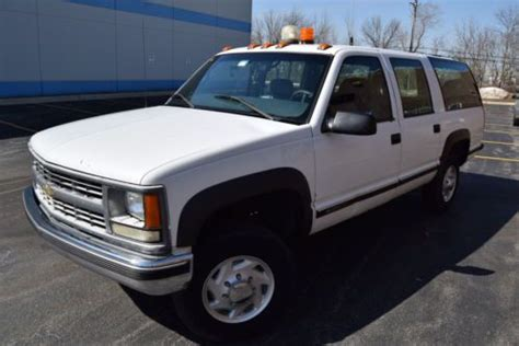 how cars engines work 2003 chevrolet suburban 2500 auto manual buy used 1999 chevy k2500 3 4 ton suburban with 20 000 miles on engine and trans in northbrook