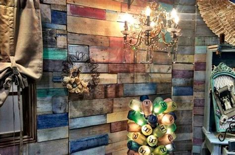 multi colored walls multi colored pallet wall design inspiration pinterest