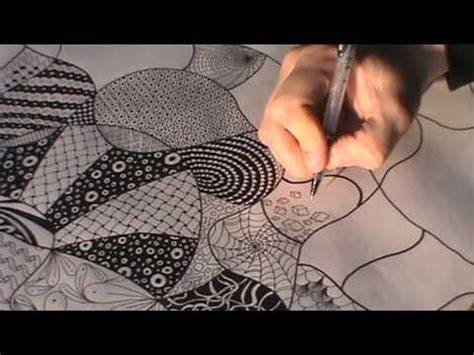 how to draw a tangle doodle part 3 poster sized tangle doodle part 18 how to draw a cube