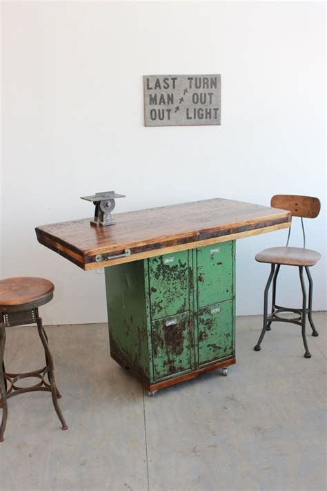 antique kitchen island table 25 best ideas about industrial workbench on rolling workbench work shop garage and