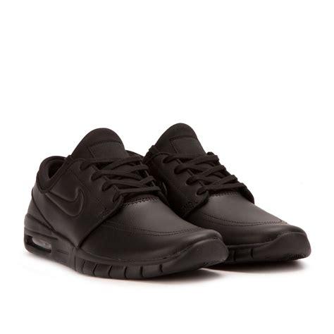 Nike Stefan Janoski 9 nike sb stefan janoski max leather black 685299 009