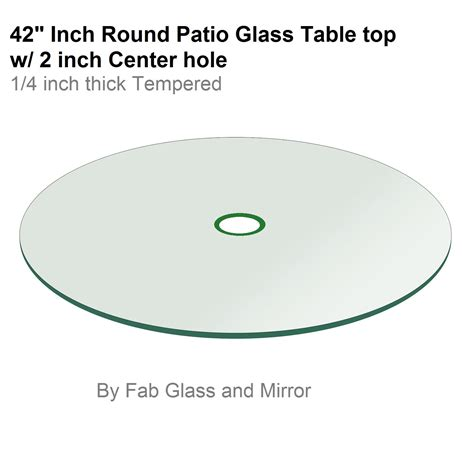 Glass Patio Table Top Replacement Patio Glass Table Top 42 Flat Tempered With 2
