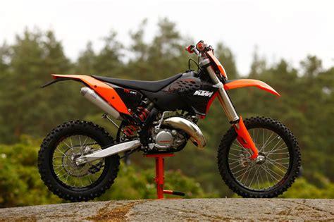 125er Motorrad 2 Takter by Ktm Exc 2009 Testbericht