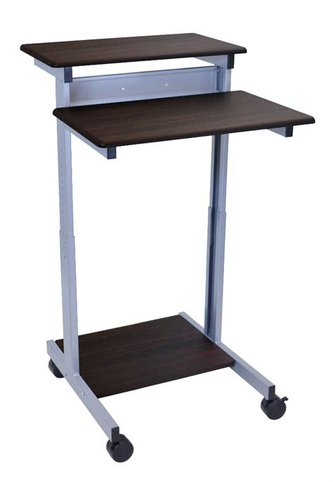 24 Quot Adjustable Stand Up Desk Luxor Standup 24 Dw Adjustable Stand Up Desk