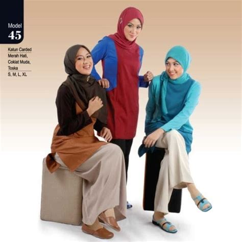 Baju Kaos Muslimah Rabbani Galeri Azalia Toko Baju Busana Muslim Modern Dan