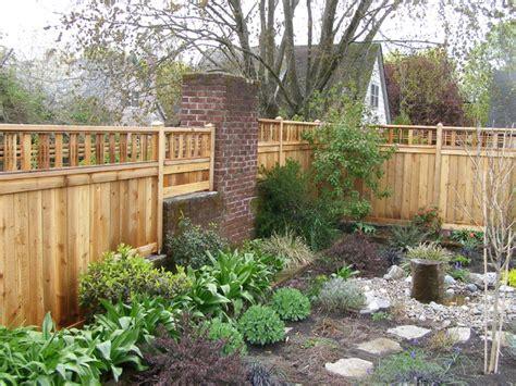 Landscape Fencing Fence Landscape Portland By Apogee Landscapes Llc