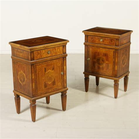 comodini in stile comodini in stile neoclassico mobili in stile bottega